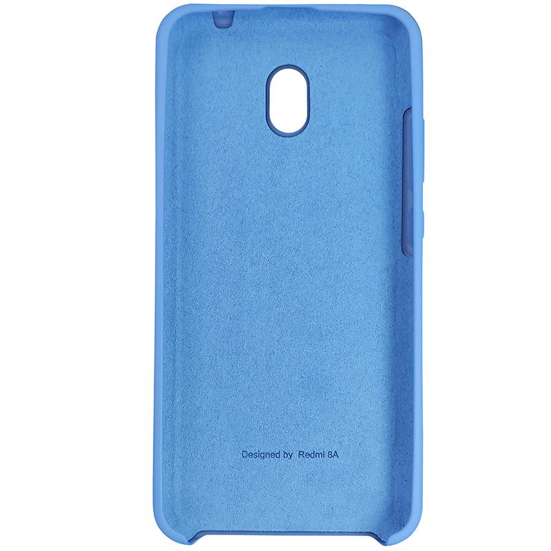 Чехол Silicone Case for Xiaomi Redmi 8A Blue (3) - 3