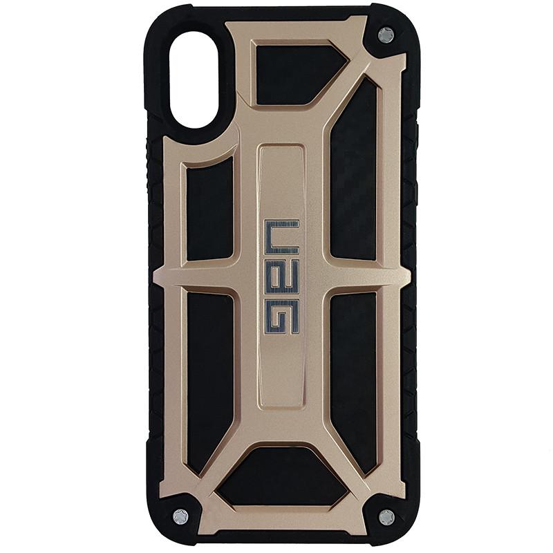 Чохол UAG Monarch iPhone X/XS Gold (HC) - 3