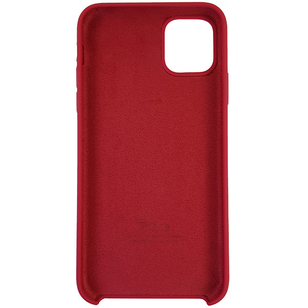 Чохол Copy Silicone Case iPhone 11 Pro Max Rose Red (36) - 4
