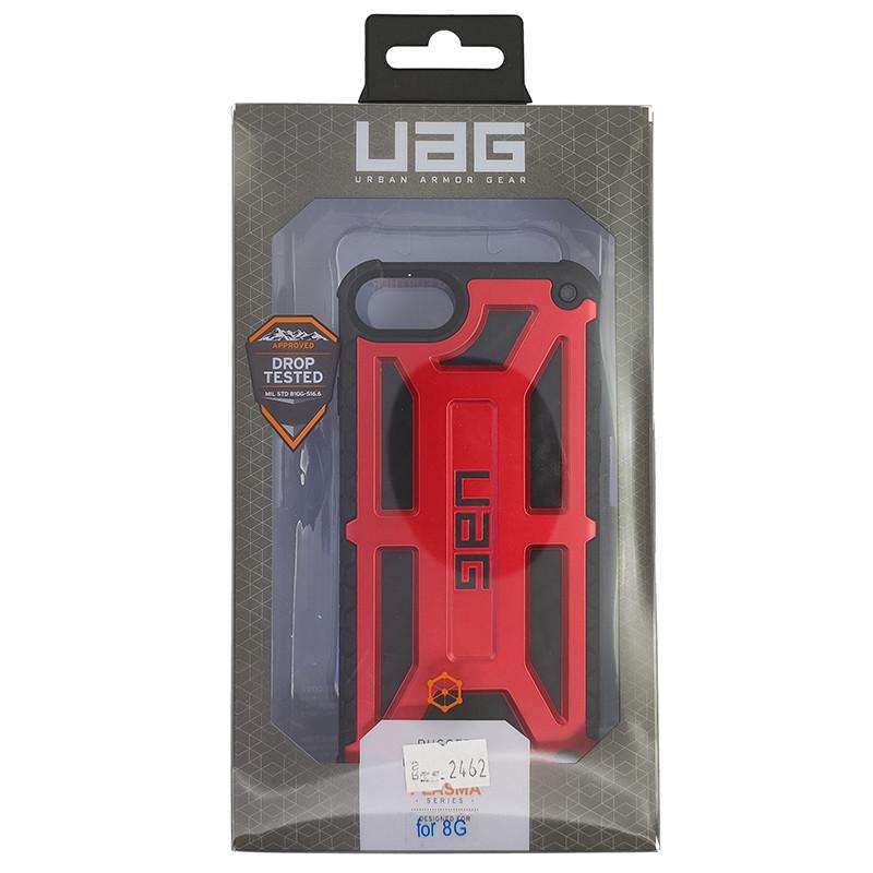 Чохол UAG Monarch iPhone 8 Red (HC) - 5