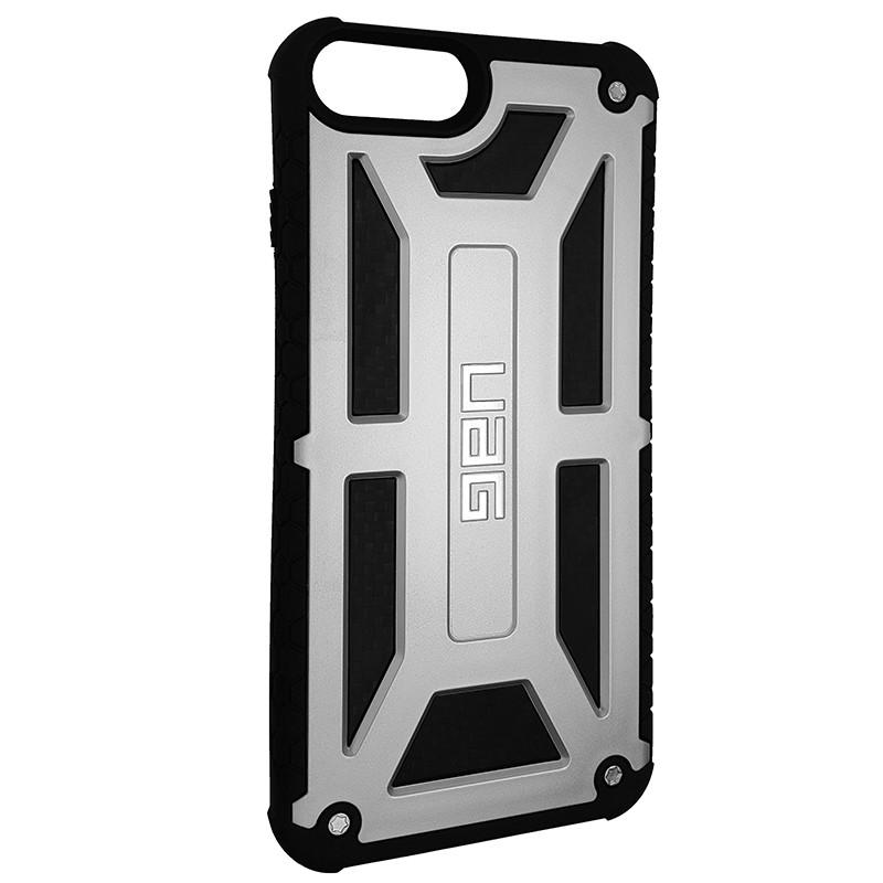 Чохол UAG Monarch iPhone 7/8 Plus Silver (HC) - 2