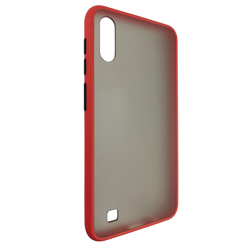 Чохол Totu Copy Gingle Series for Samsung A10 Red+Black - 1