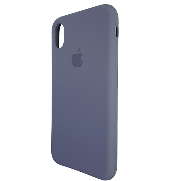 Чохол Copy Silicone Case iPhone XR Gray (46) - 2