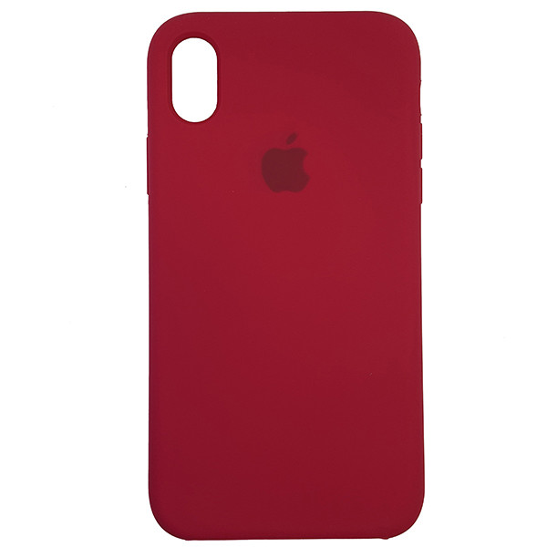 Чохол Copy Silicone Case iPhone XR Rose Red (36) - 3