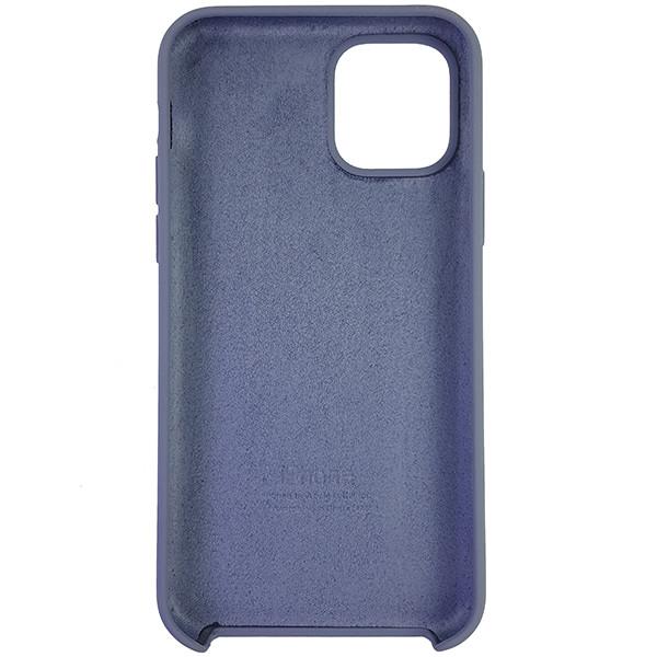 Чохол Copy Silicone Case iPhone 11 Pro Gray (46) - 4