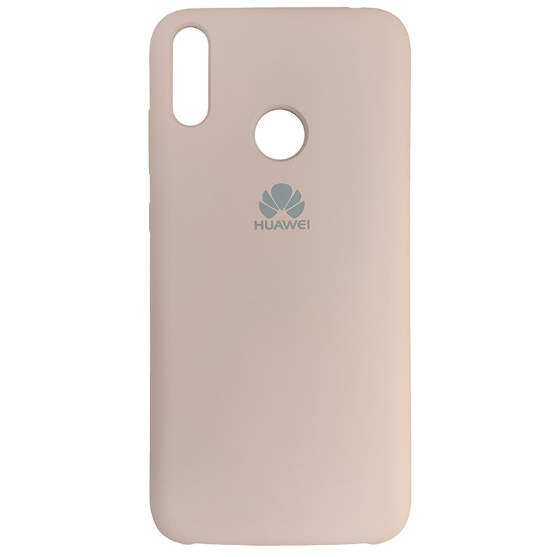 Чохол Silicone Case for Huawei Y7 2019 Sand Pink (19) - 1