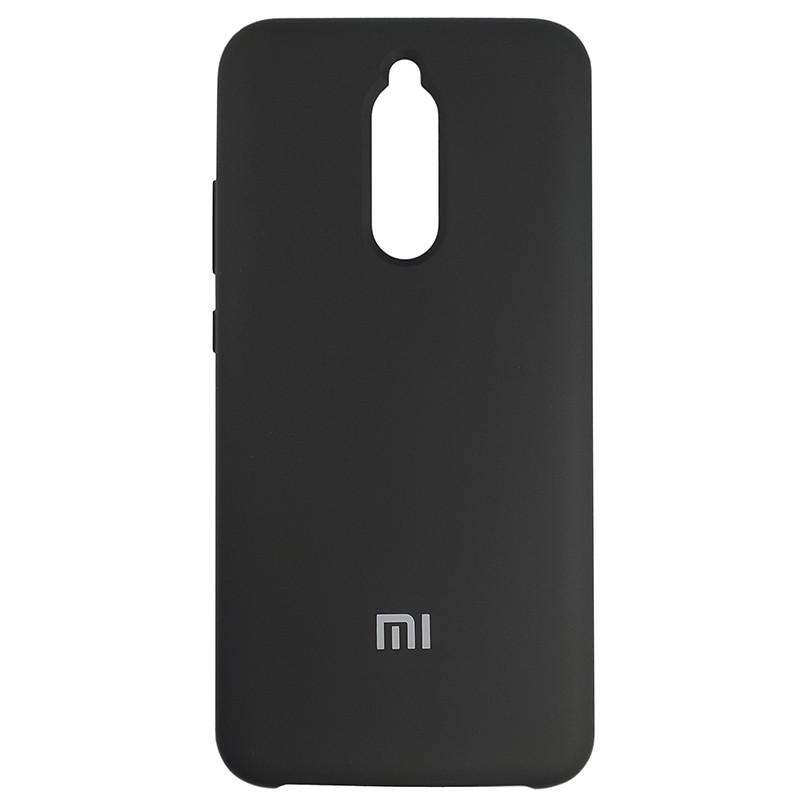 Чохол Silicone Case for Xiaomi Redmi 8 Black (18) - 1