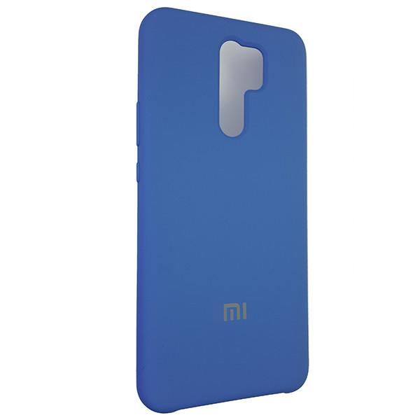 Чохол Silicone Case for Xiaomi Redmi 9 Blue (3) - 2