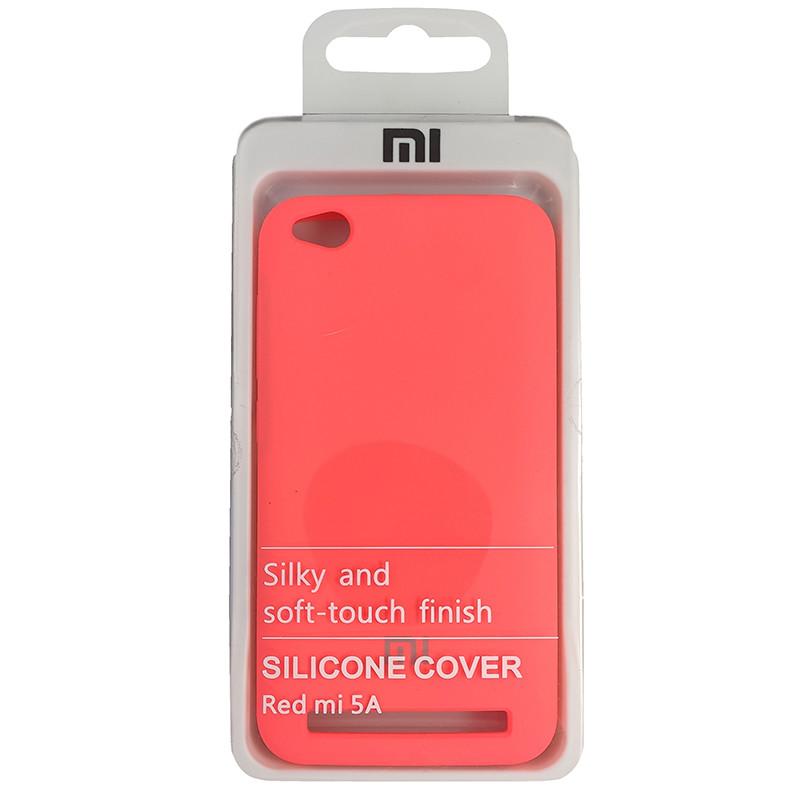 Чохол Silicone Case for Xiaomi Redmi 5A Peach Bl.Pink (29) - 4