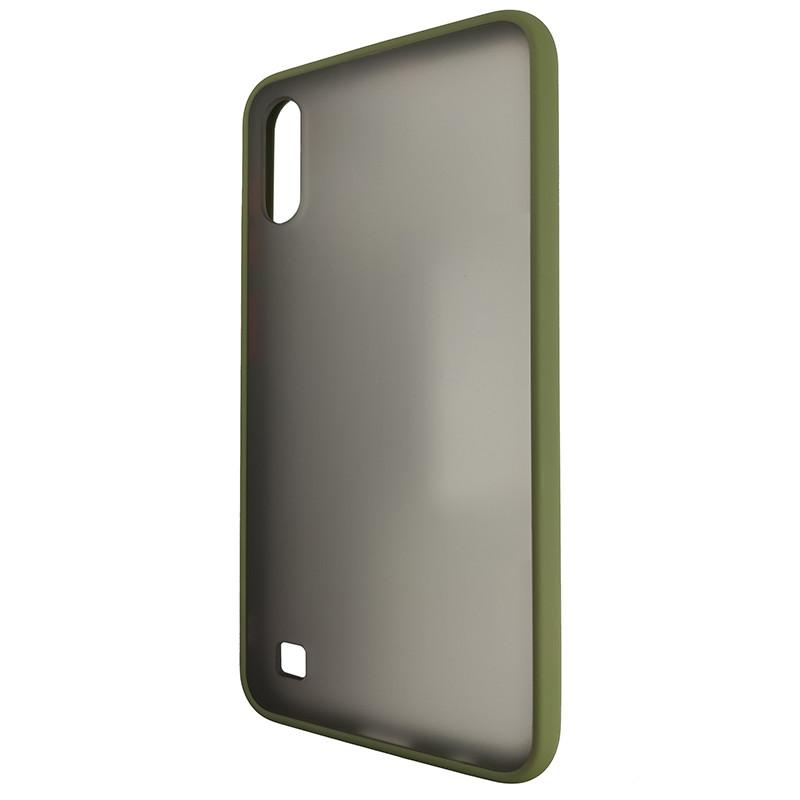 Чохол Totu Copy Gingle Series for Samsung A10 Dark Green+Orange - 3