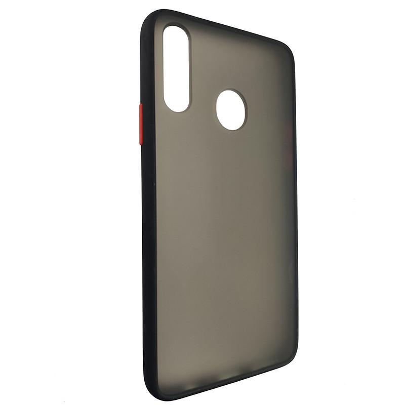 Чохол Totu Copy Gingle Series for Samsung A20S Black+Red - 1