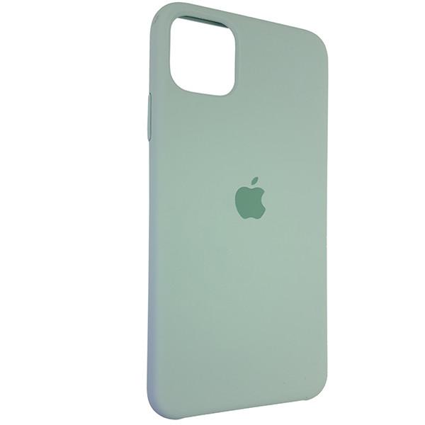 Чохол Copy Silicone Case iPhone 11 Pro Max Mist Green (17) - 1