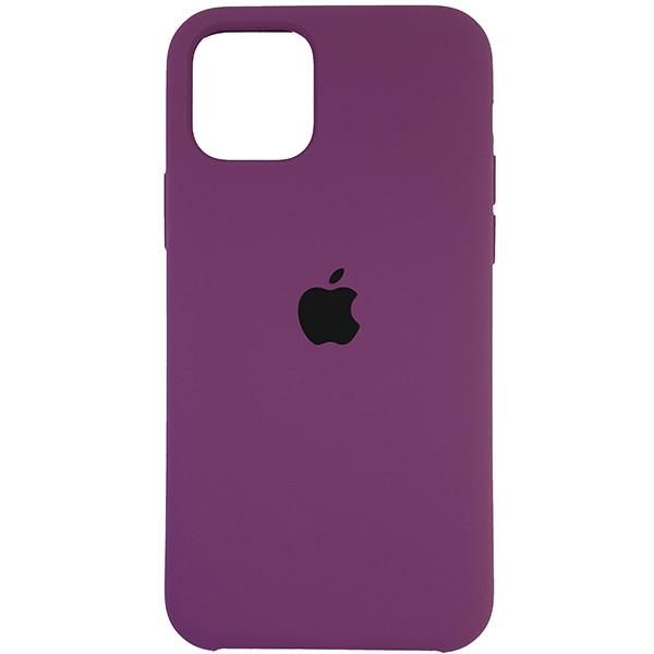 Чехол Copy Silicone Case iPhone 11 Pro Purpule (45) - 3