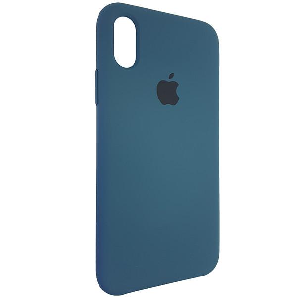 Чохол Copy Silicone Case iPhone X/XS Cosmos Blue (35) - 1