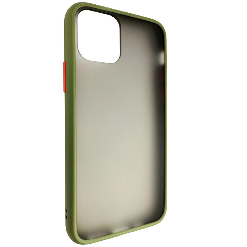 Чохол Totu Copy Gingle Series for iPhone 11 Pro Dark Green+Orange - 1