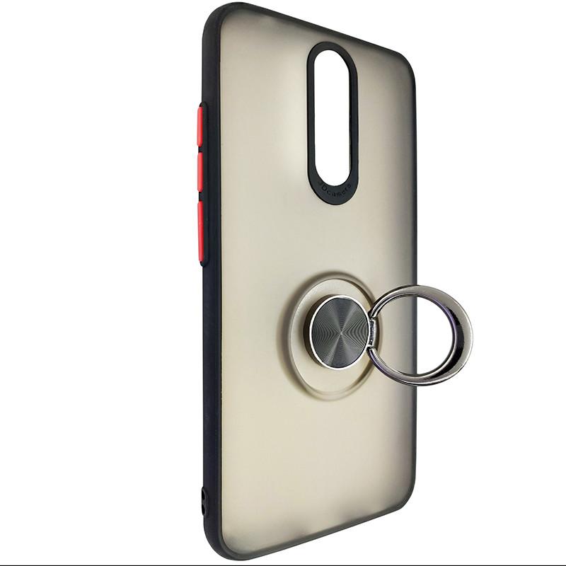 Чохол Totu Copy Ring Case Xiaomi Redmi 8/8A Black+Red - 2