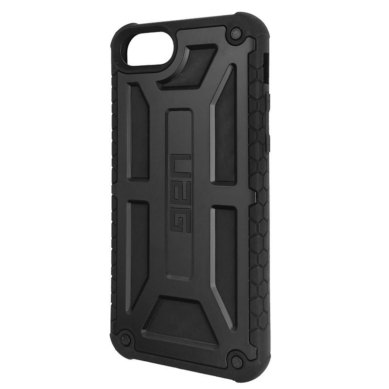 Чохол UAG Monarch iPhone 8 Black (HC) - 1
