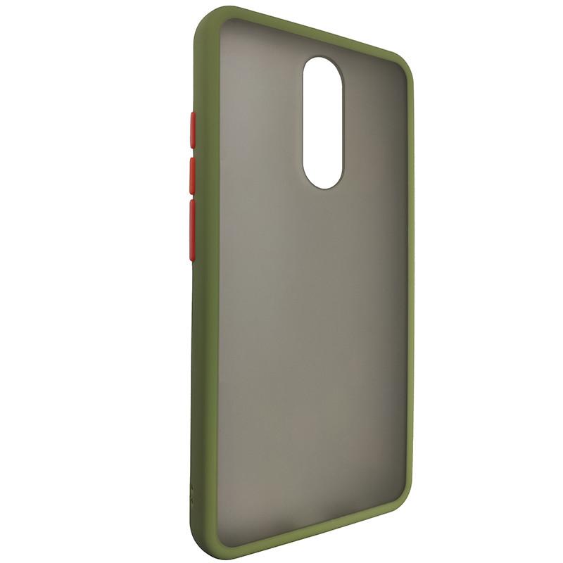 Чохол Totu Copy Gingle Series for Xiaomi redmi 8/8A Dark Green+Orange - 1
