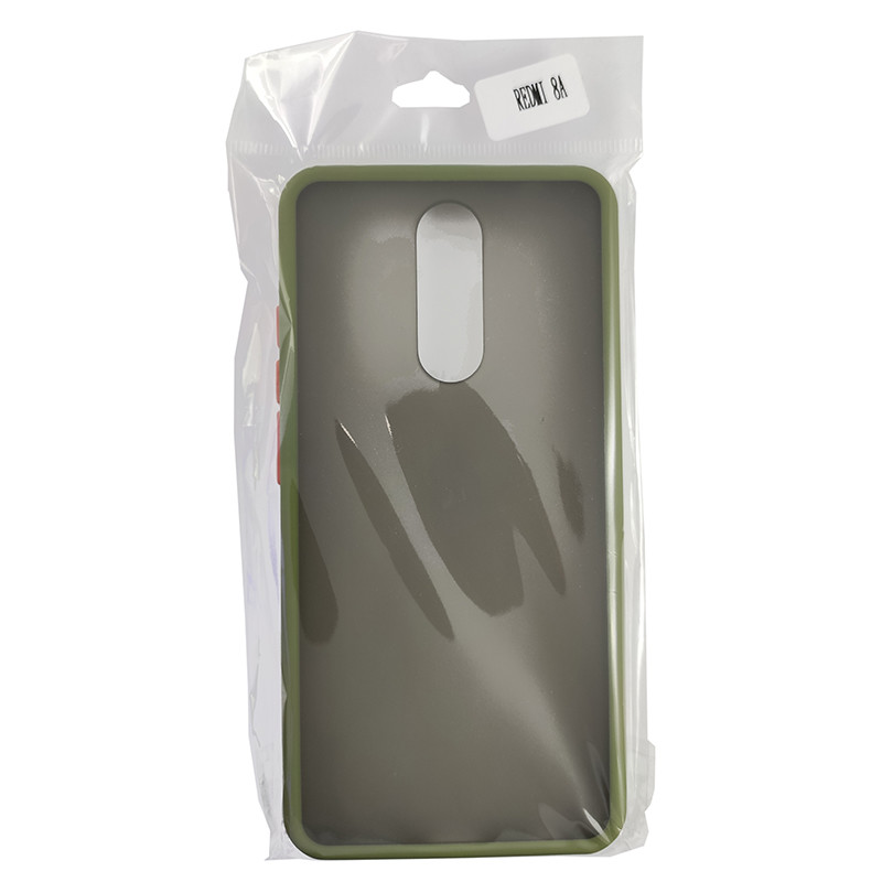 Чехол Totu Copy Gingle Series for Xiaomi 8/8A Dark Green+Orange - 3