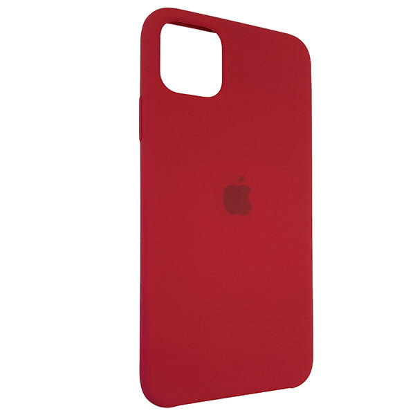 Чохол Copy Silicone Case iPhone 11 Pro Max Rose Red (36) - 1