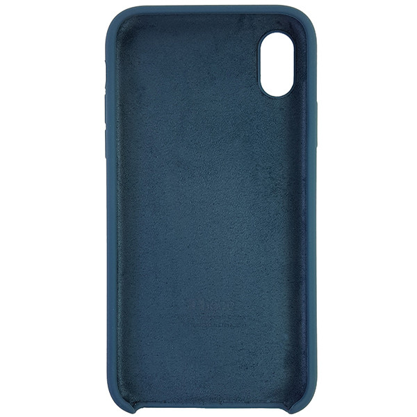 Чохол Copy Silicone Case iPhone XR Cosmos Blue (35) - 4