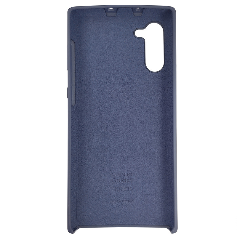 Чохол Silicone Case for Samsung Note 10 Midnight (8) - 3