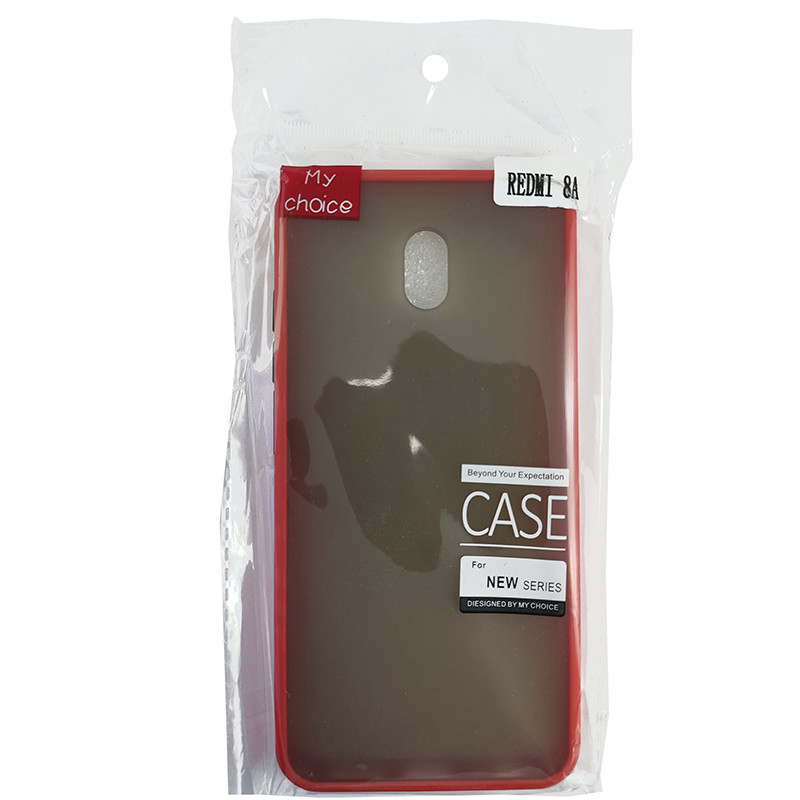 Чохол Totu Copy Gingle Series for Xiaomi 8A Red+Black - 2
