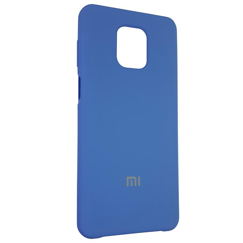 Чохол Silicone Case for Xiaomi Redmi Note 9S/9 Pro Blue (3) - 2