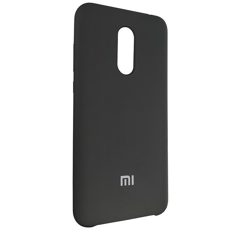 Чохол Silicone Case for Xiaomi Redmi 5 Plus Black (18) - 2