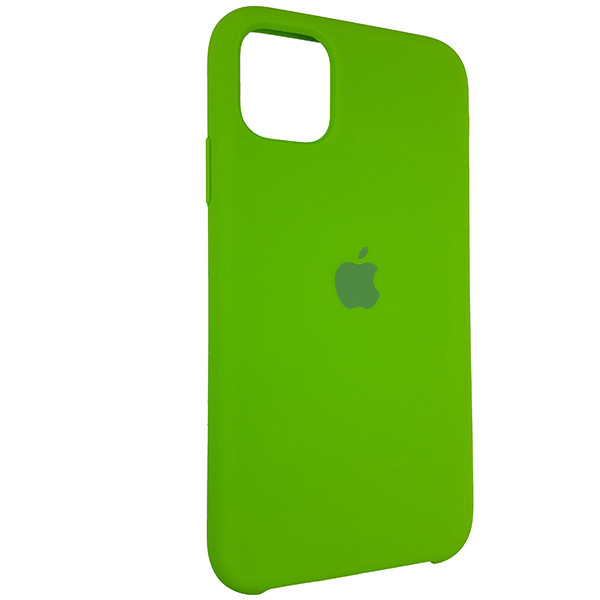 Чохол Copy Silicone Case iPhone 11 Pro Green (31) - 1