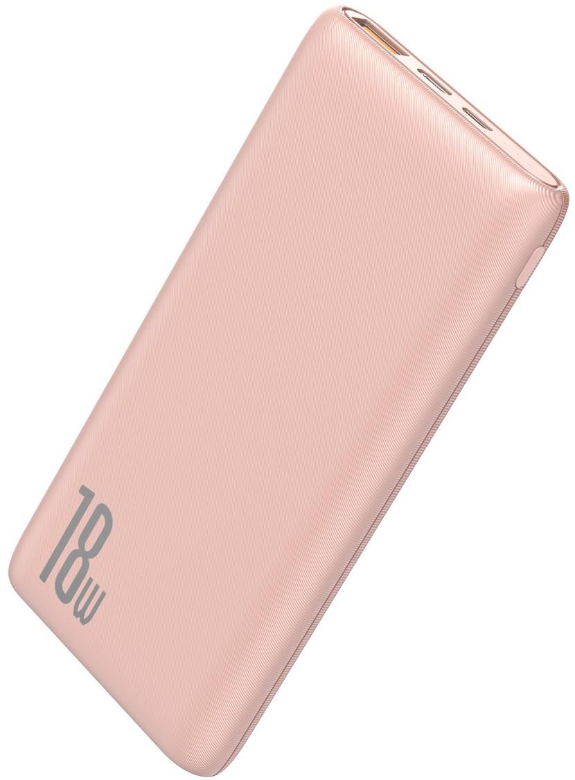 Power Bank Baseus Bipow PD+QC 10000mAh Pink - 1