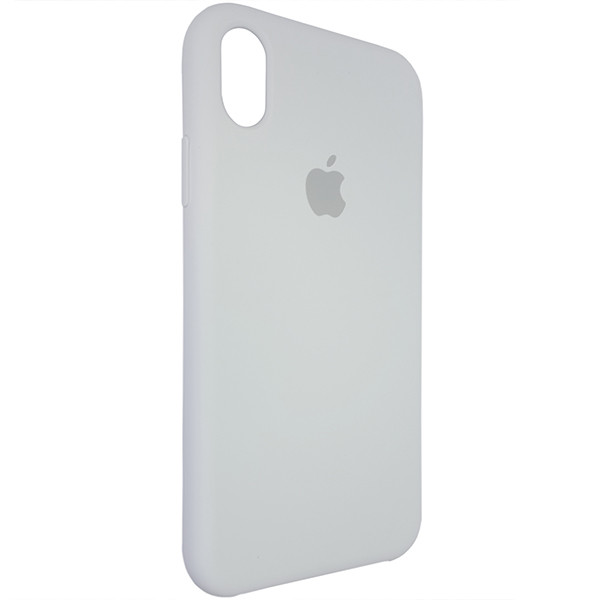Чохол Copy Silicone Case iPhone XR White (9) - 1