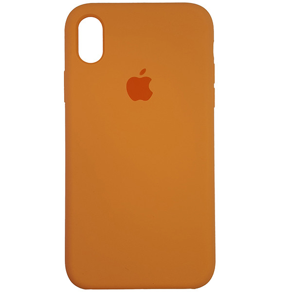 Чохол Copy Silicone Case iPhone XR Papaya (56) - 3