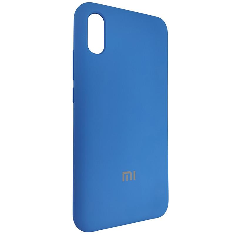 Чохол Silicone Case for Xiaomi Redmi 9A Blue (3) - 2