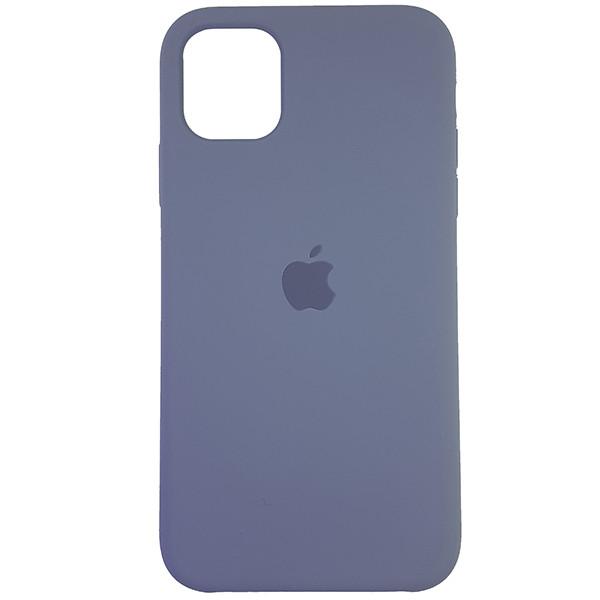 Чохол Copy Silicone Case iPhone 11 Gray (46) - 3