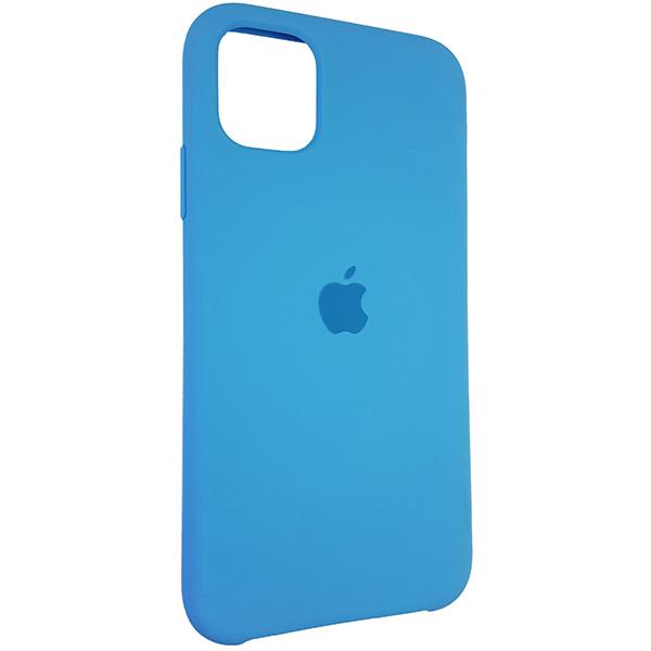 Чохол Copy Silicone Case iPhone 11 Sky Blue (16) - 1