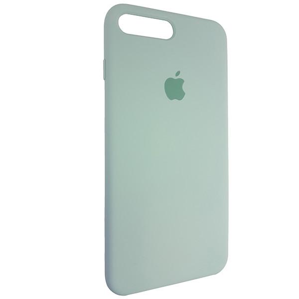Чохол Copy Silicone Case iPhone 7/8 Plus Mist Green (17) - 1