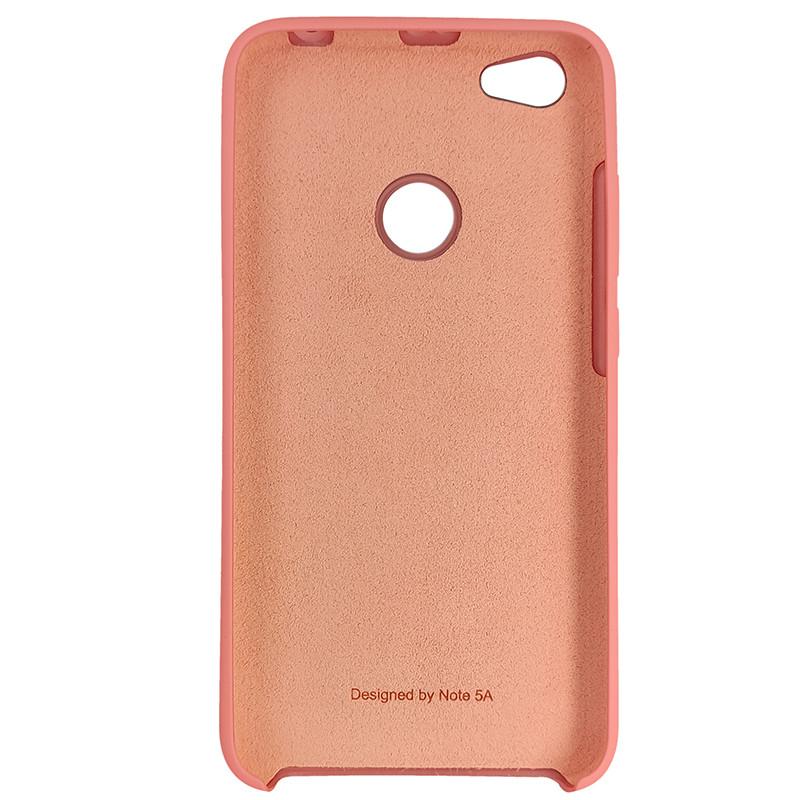 Чохол Silicone Case for Xiaomi Redmi Note 5A Peach Bl.Pink (light) (35) - 3