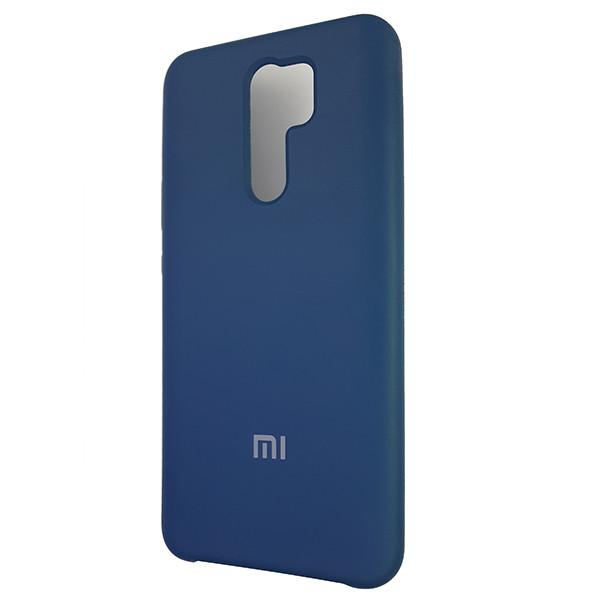 Чохол Silicone Case for Xiaomi Redmi 9 Cobalt Blue (40) - 1