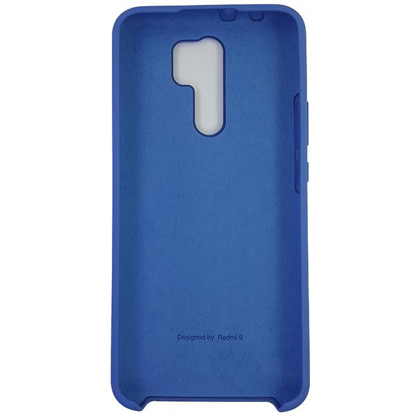 Чохол Silicone Case for Xiaomi Redmi 9 Blue (3) - 3