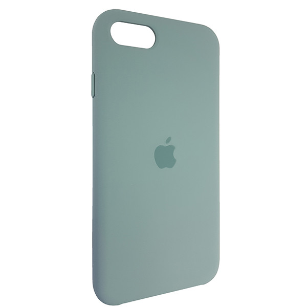 Чохол Copy Silicone Case iPhone SE 2020 Wood Green (58) - 1