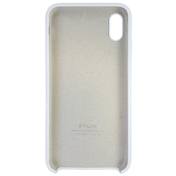 Чехол Copy Silicone Case iPhone XS Max White (9) - 4