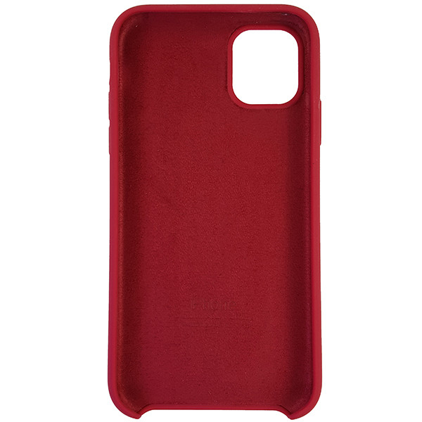 Чохол Copy Silicone Case iPhone 11 Rose Red (36) - 4