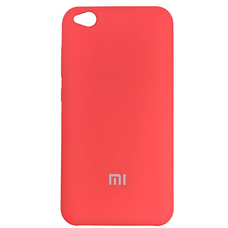 Чохол Silicone Case for Xiaomi Redmi Go Red (14) - 1