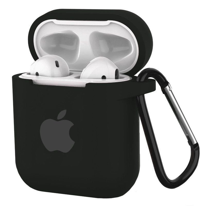 Silicone Case for AirPods Black (18) - 1