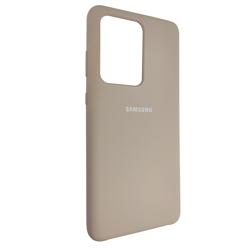Чохол Silicone Case for Samsung S20 Ultra Sand Pink (19) - 2