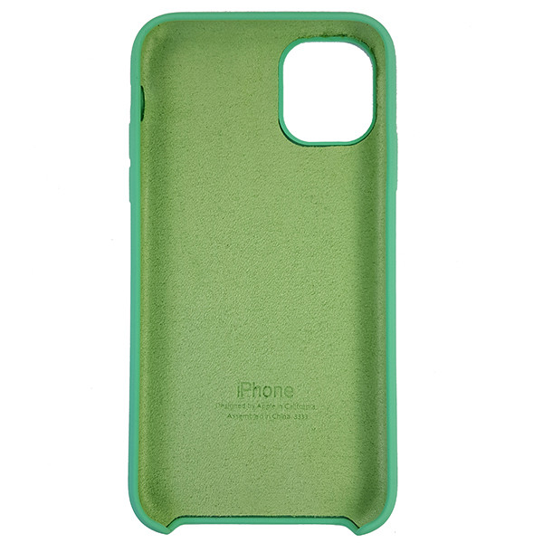 Чохол Copy Silicone Case iPhone 11 Sea Green (50) - 4
