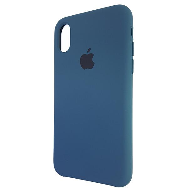 Чохол Copy Silicone Case iPhone X/XS Cosmos Blue (35) - 2