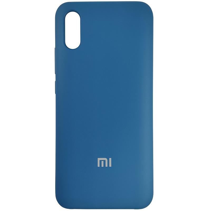 Чохол Silicone Case for Xiaomi Redmi 9A Cobalt Blue (40) - 1