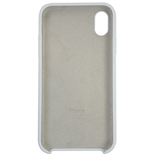 Чохол Copy Silicone Case iPhone XR White (9) - 4